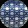 metalická fialová - Ellipse Ring