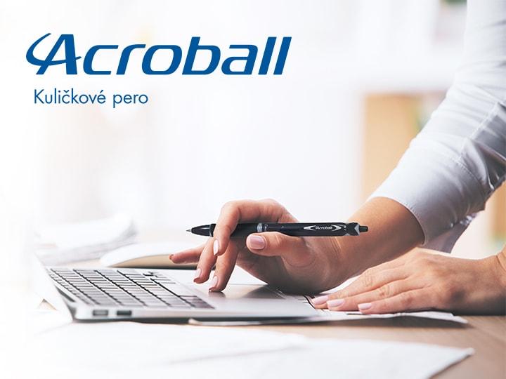 Kuličkové pero Acroball Pilot