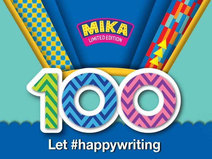 Pilot 100 let Mika