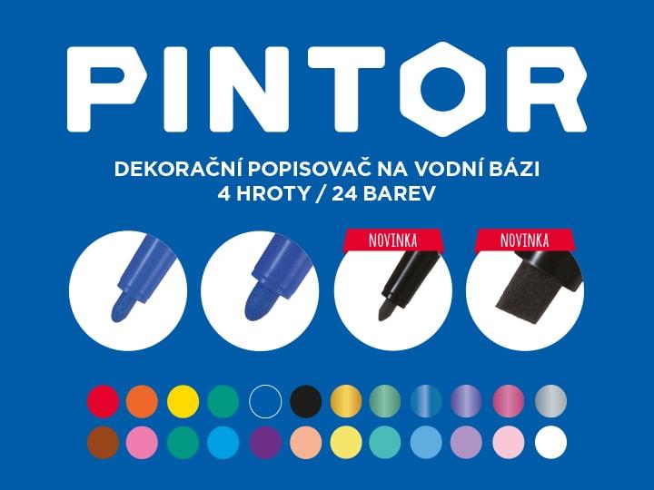 Dekorační popisovač Pilot Pintor