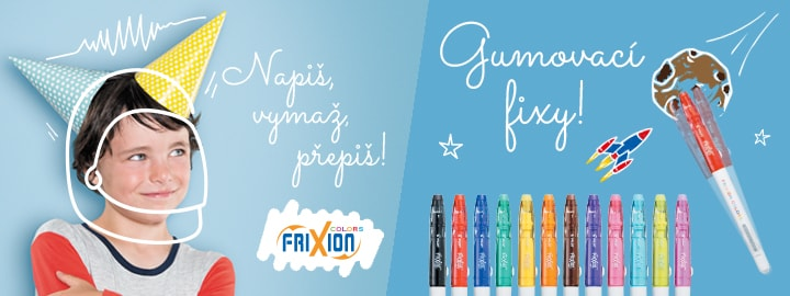 Pilot FriXion Colors Fixy
