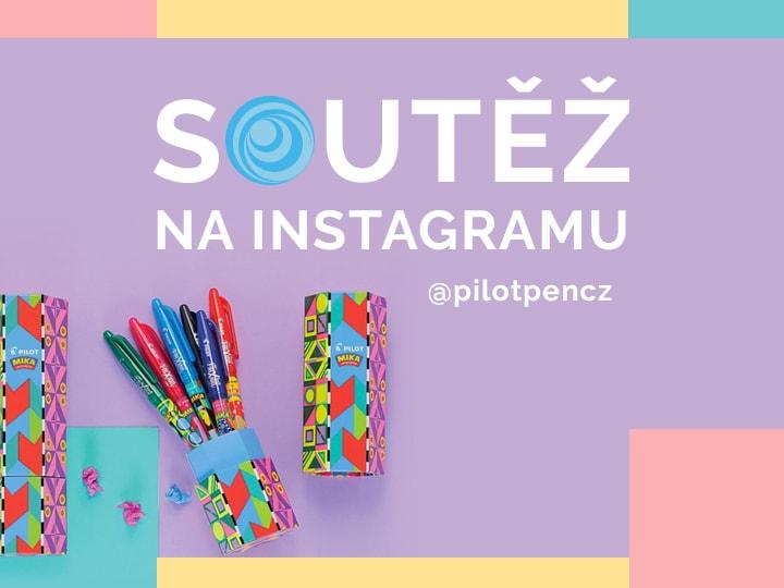 Soutěž na Instagramu @pilotpencz