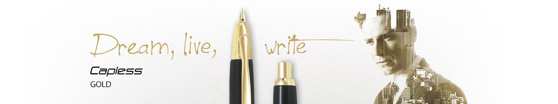 Pilot - Fine Writing - Capless Gold