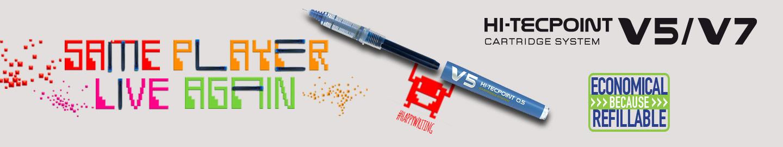 Pilot Rollery s tekutým inkoustem V5/V7 Refillable