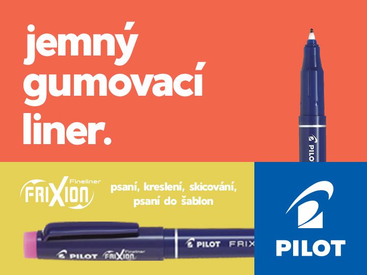 FriXion Fineliner gumovacím Liner Pilot
