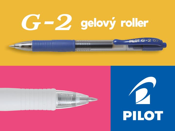 Pilot G-2, G-2 Victoria Gelové rollery