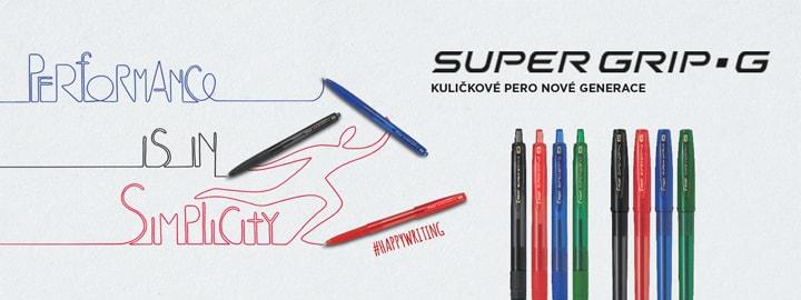Super Grip G Kuličkové pero Pilot
