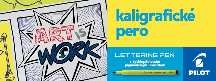 Pilot Lettering Pen je kaligrafické pero