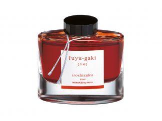 Inkousty Iroshizuku - Oranžová barva - oranžová Fuyu Gaki - 50 ml