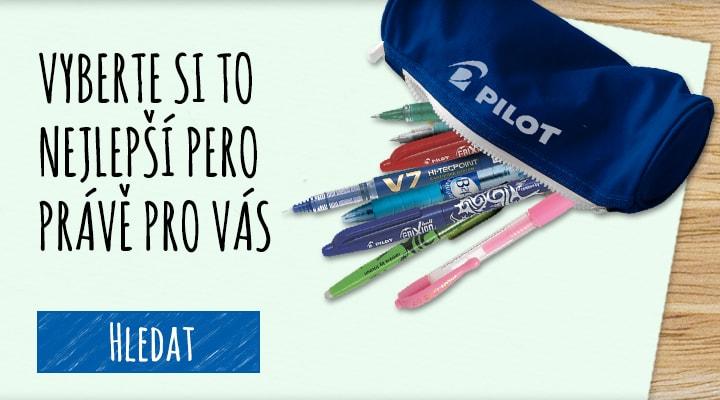 Vyberte si TO nejlepší pero právě pro vás